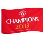 Vlajka Manchester United FC Champions