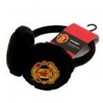 Plyšové klapky na uši Manchester United FC