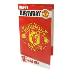 Blahopřání k narozeninám Manchester United FC (