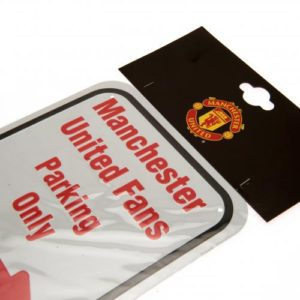 Plechová cedulka Manchester United FC No Parking (typ 16)